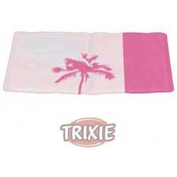 Trixie Manta Refrigerante Estampado Tropic Color Rosa 65x50cm