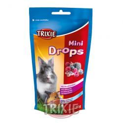Trixie Mini Drops, Frutas Del Bosque 75g