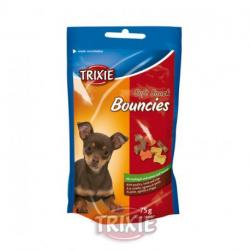 Trixie Soft Snack Bouncies, Ave, Cordero y Tripa 75 g.