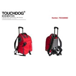 Montero Pet Trolley Mochila Touchgdog Rojo