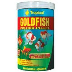 Tropical Goldfish Color Pellet alimento en gránulos para peces 150 ml