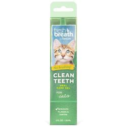 Tropiclean Clean Teeth Oral Care Gel Limpiador Bucal para Gatos 59ml