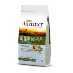 True Instinct No Grain Medium Puppy Salmón 12Kg