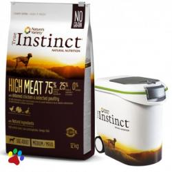 PACK AHORRO True Instinct High Meat Medium Chicken 2x12kg