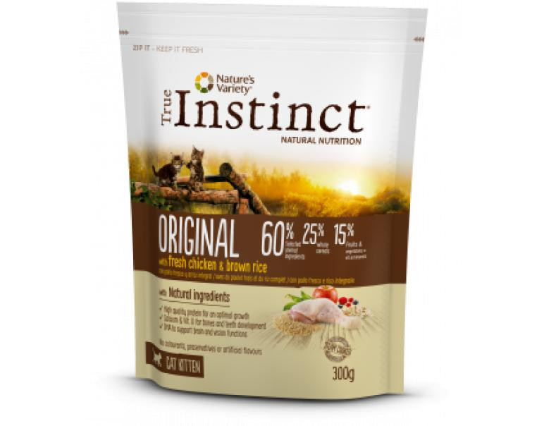 True Instinct Original Cat Kitten Chicken 300gr