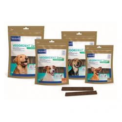 Virbac Veggiedent Fresh Individuales Complemento para Perros XS 45uds