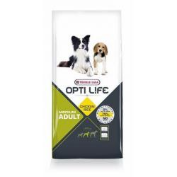 Versele-Laga Opti Life Medium Adult Pollo & Arroz 12.5 kg