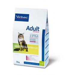 Veterinary HPM Adult Salmón Neutered-Entire Gato 7 kg