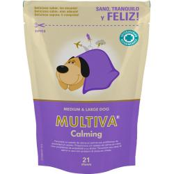 Vetnova Multiva Calming Dog Perros Medianos y Grandes 21Chews