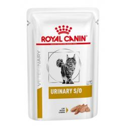 PACK AHORRO Royal Canin Veterinary Cat Urinary S/O Loaf 12x85g
