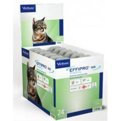 Virbac Effipro Duo Spot On Gatos 24 Pipetas