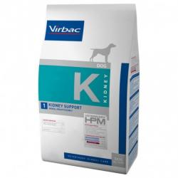 PACK AHORRO Virbac K1-Dog Kidney Support 2x12kg