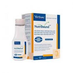 Virbac Nutribound Gatos 3 Botellas 150 ml