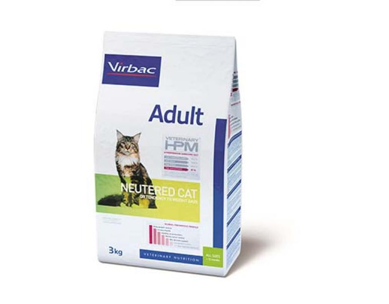 Solo vets: Virbac Veterinary HPM Adult Neutered Cat 1.5 kg