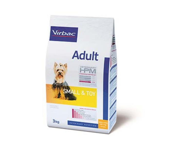 Virbac Veterinary HPM Adult Small-Toy 3 kg