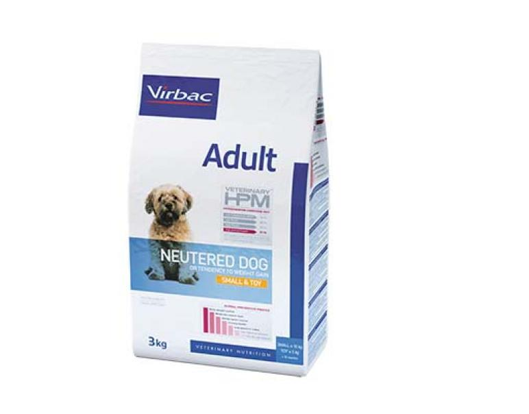 Solo vets: Virbac Veterinary HPM Dog Adult Neutered Small-Toy 1.5 kg