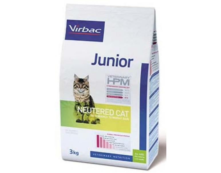 Virbac Veterinary HPM Junior Neutered Cat 1.5 kg