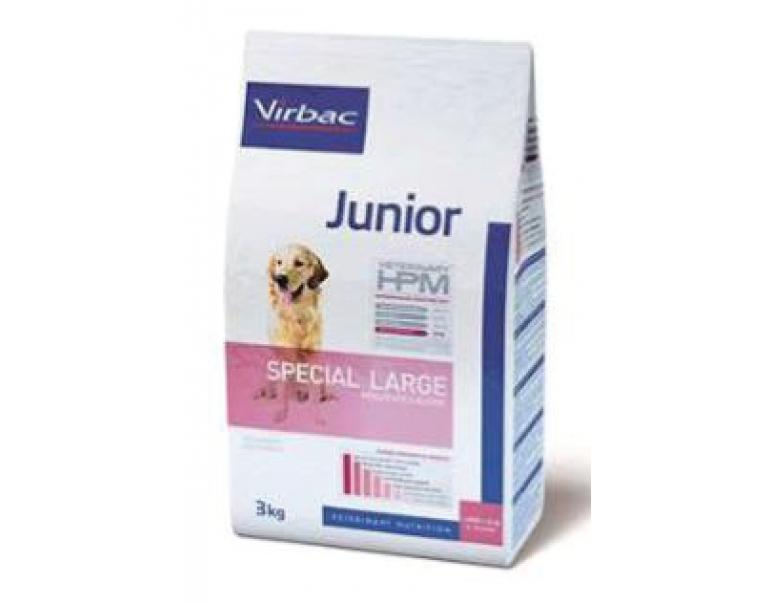 Solo vets: Virbac Veterinary HPM Junior Special Large 3 kg