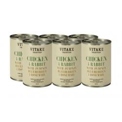 PACK AHORRO Vitake Tradition Pollo y Conejo 6 x 400gr