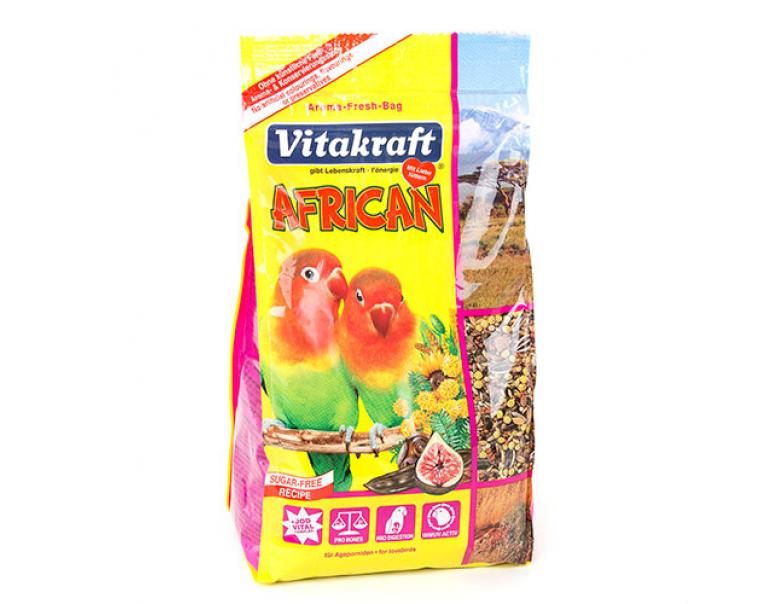 VitaKraft African Alimento completo para agapornis 750g