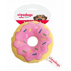 Vivadogs American Strawberry Dognut