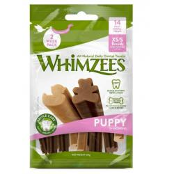 Whimzees Snack para Cachorros XS/S 14x6uds