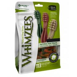 Whimzees Dental Cepillo Talla M (11,4cm) Bolsa 12 unidades