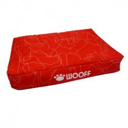 Wooff Colchón All Weather Rojo M 55x75x15cm