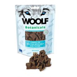 Woolf Botanicals Pescado de Mar Stripes with Kelp and Tomillo Snack para Perros 15uds