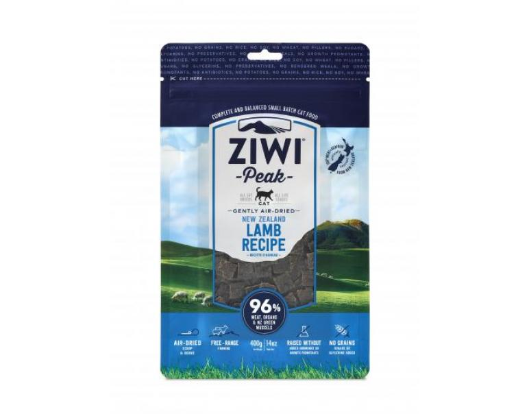 Ziwi Peak Air-Dried Cordero para Gatos 400g